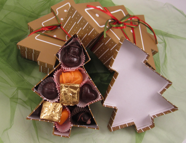 Подарочный набор конфет на новый год
