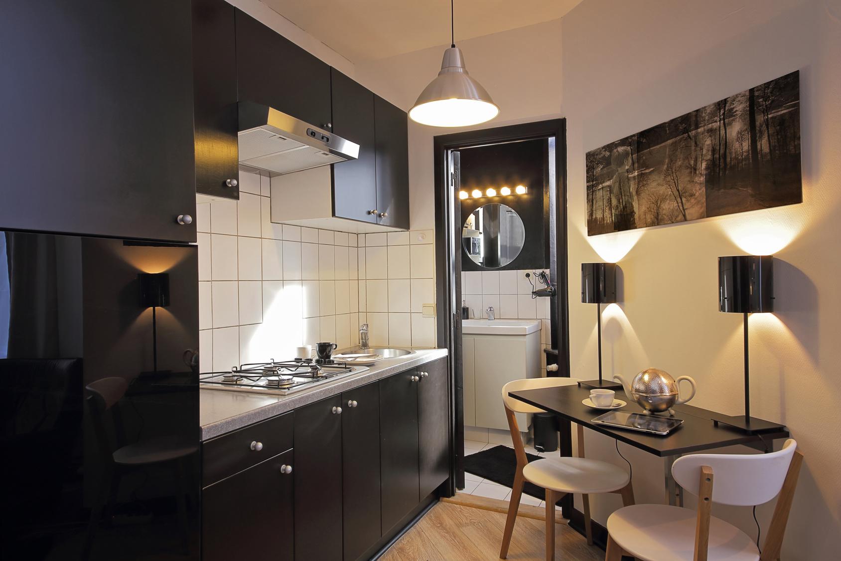 Дизайн кухни однокомнатной хрущевки