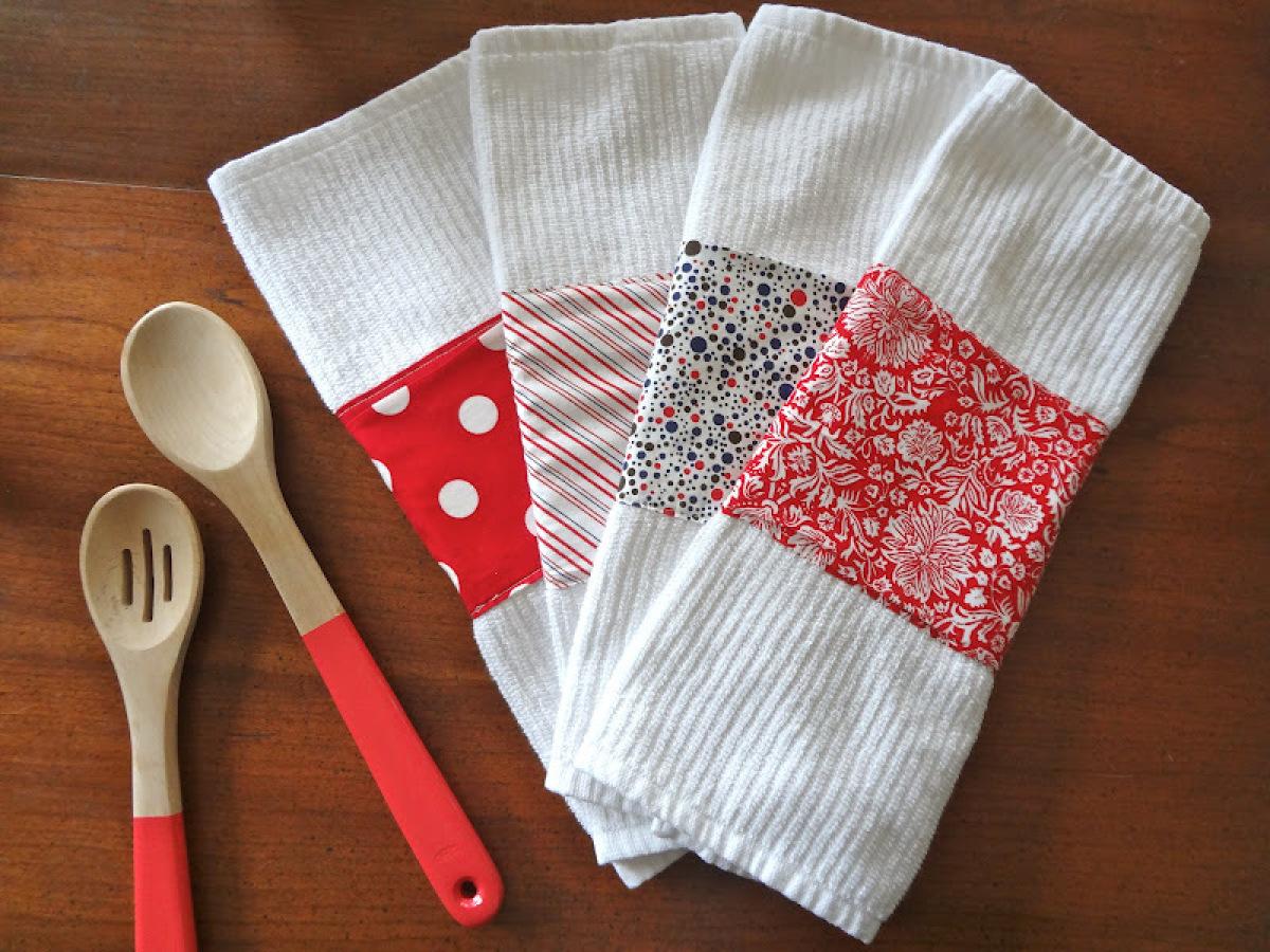 Кухонные полотенца подарок на новый год