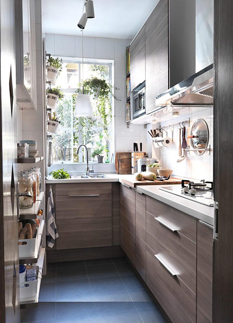 Кухня 6 кв м из МДФ