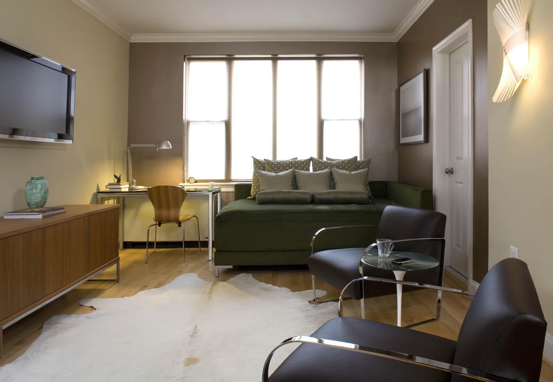 Идеи для однокомнатной квартиры в стиле минимализм