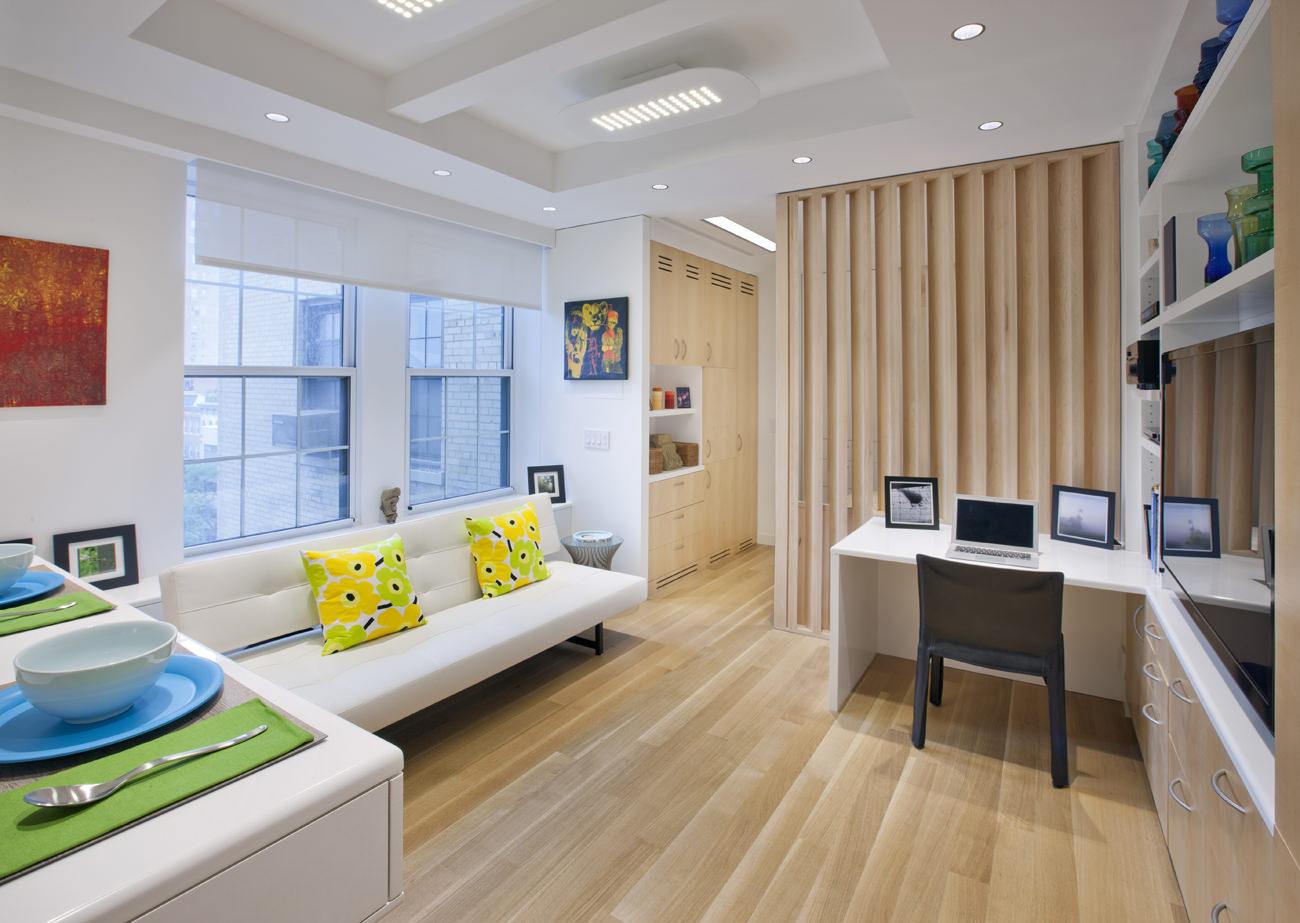 Идеи для однокомнатной квартиры в стиле модерн