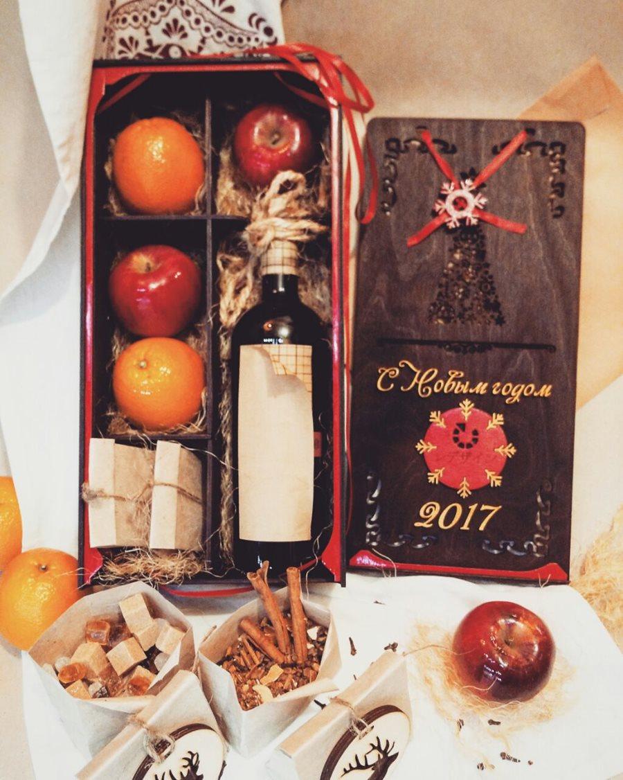 Набор для глинтвейна на новый год