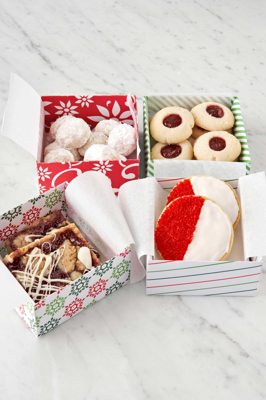 Печенье в подарок на новый год