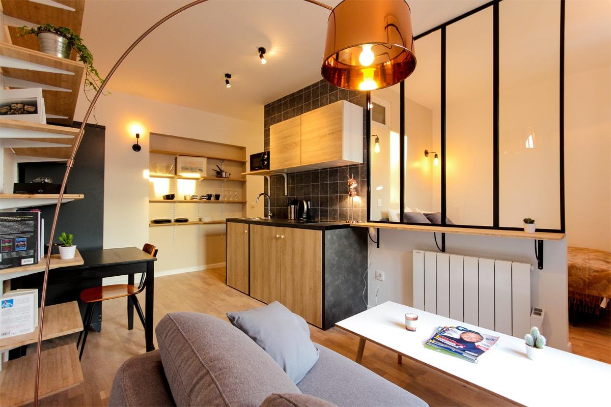 Организация пространства в однокомнатной квартире