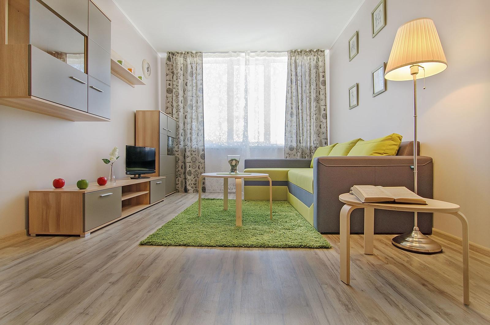 Раскладной диван в однокомнатной квартире