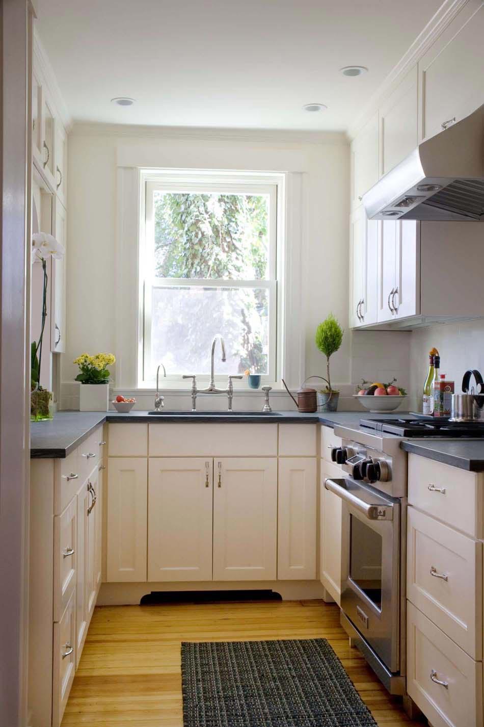 Кухня 6 кв м в стиле ретро