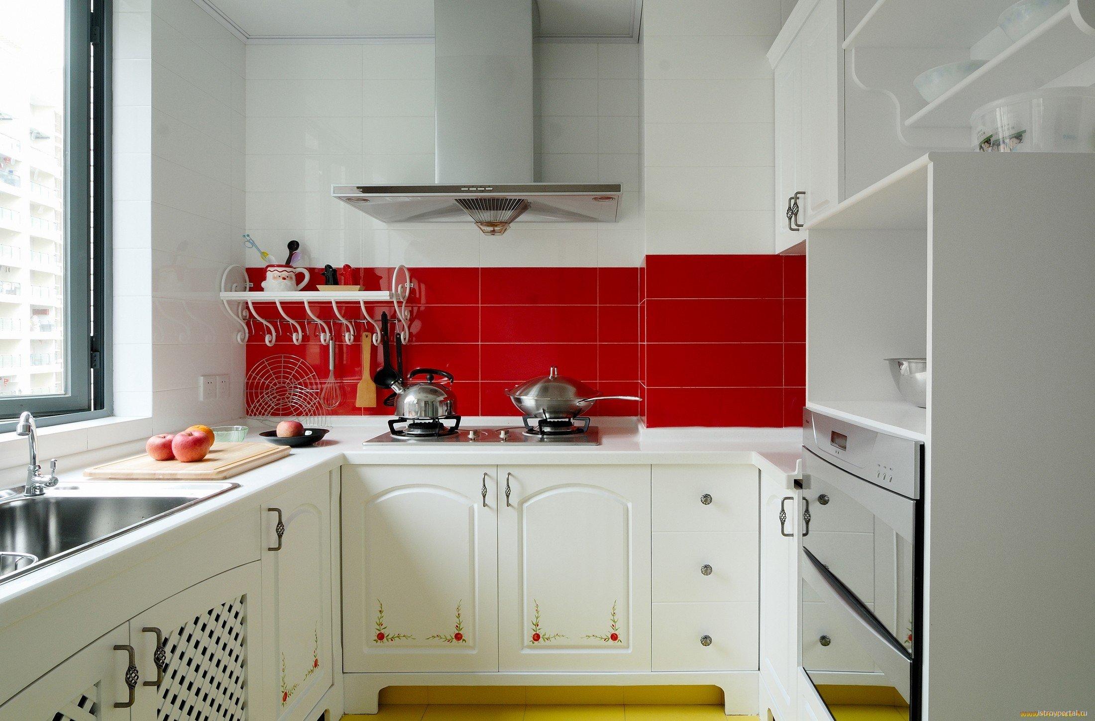 Маленькая кухня 6 кв.м: секреты удобного и стильного обустройства (56 фото)