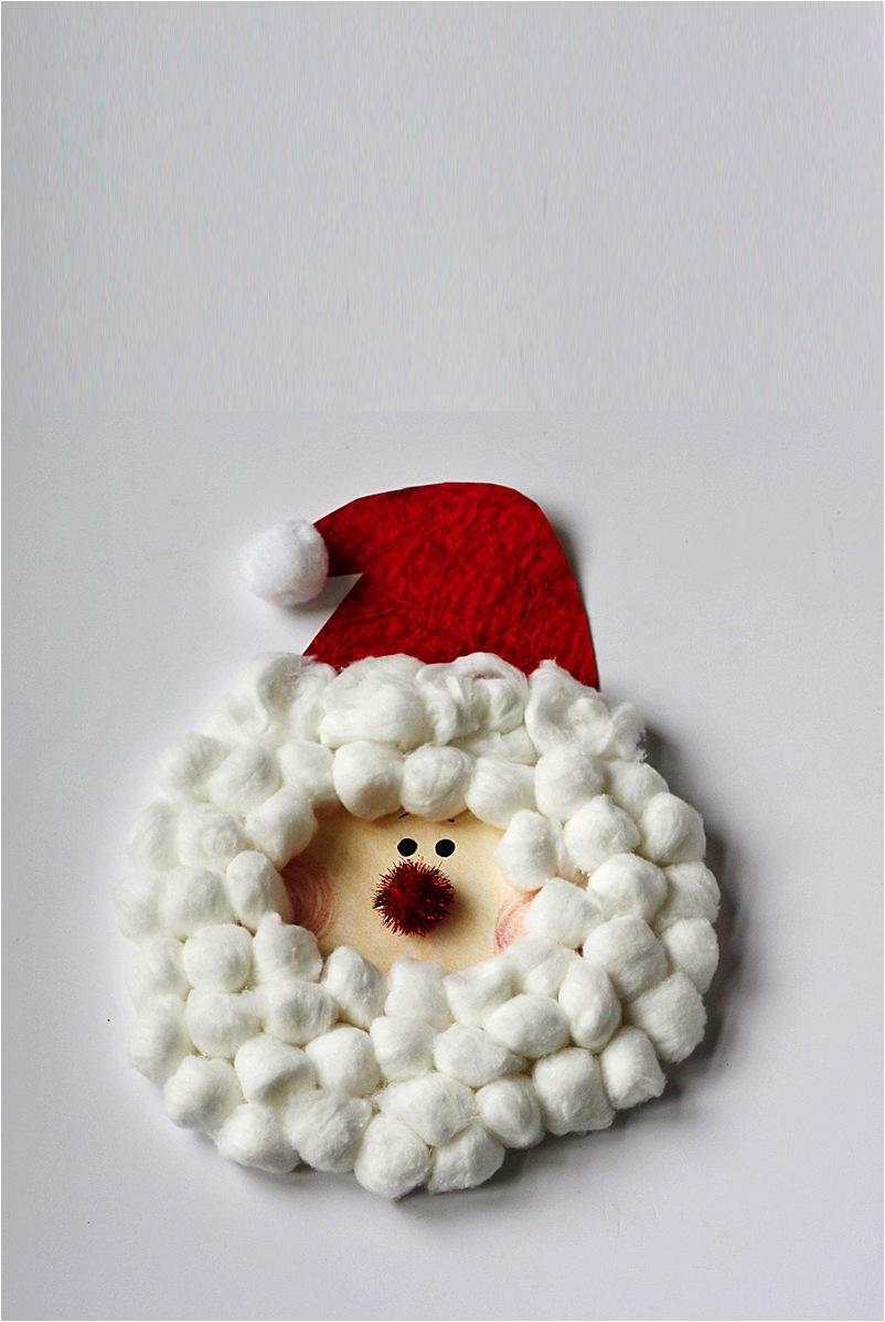 Санта из ваты