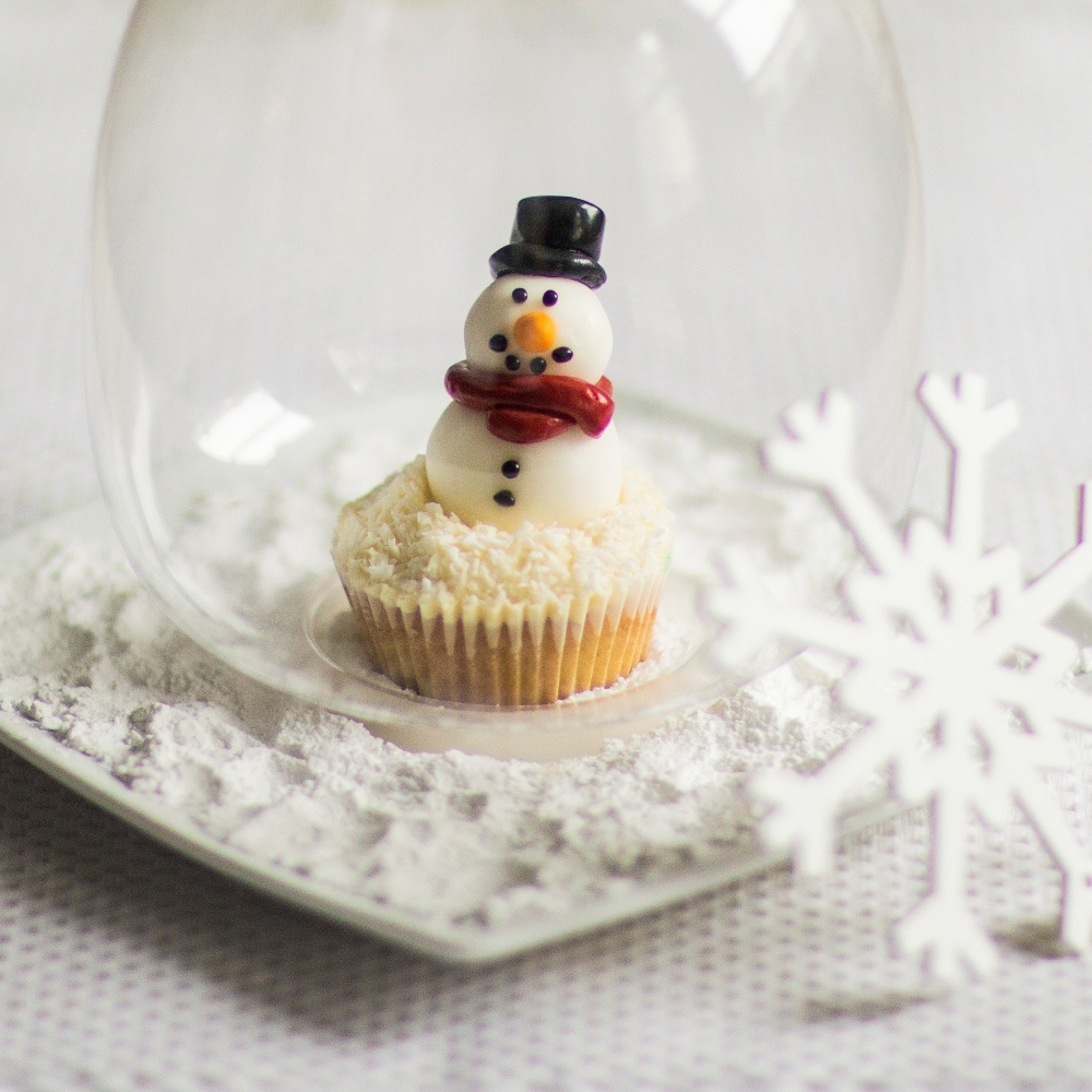 Снеговик съедобный