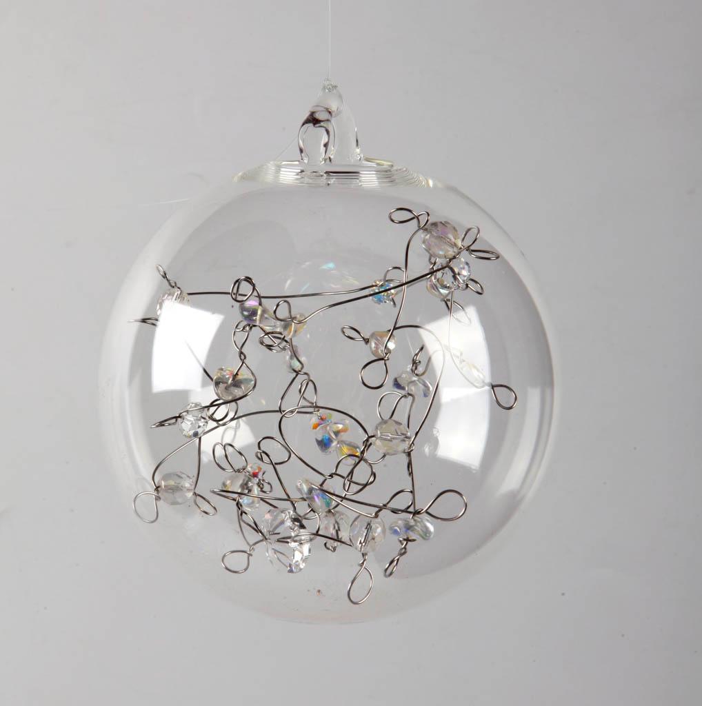 Елочные игрушки из стекла