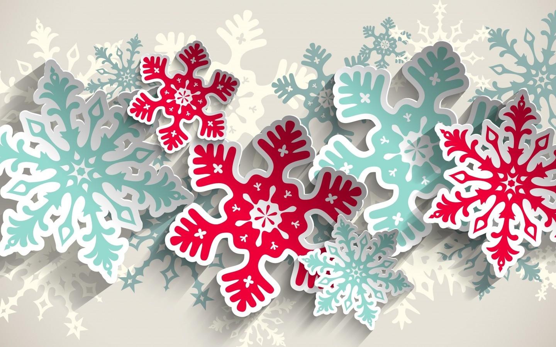 Снежинки из бумаги на стену