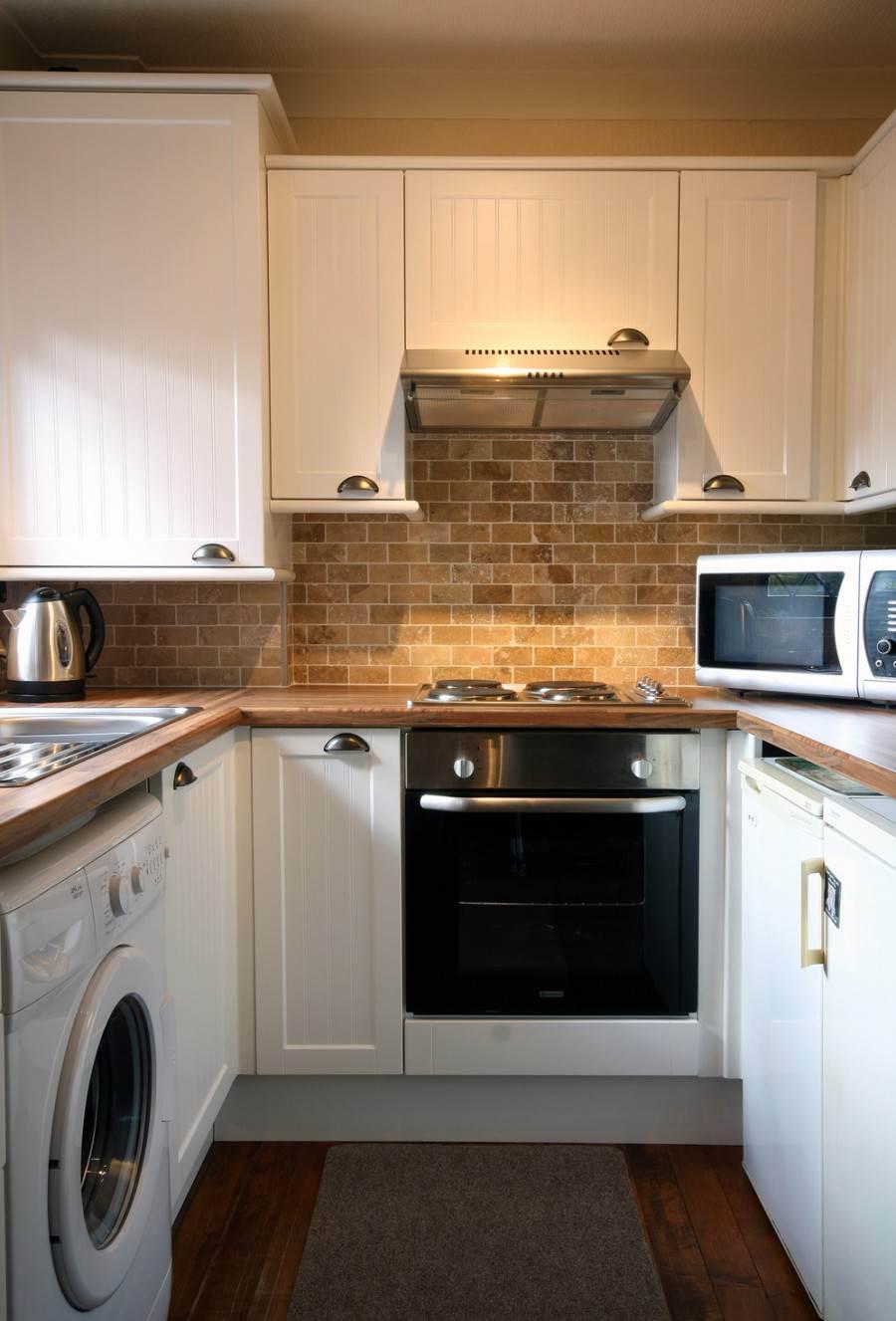 Кухня 6 кв м со стиральной машинкой