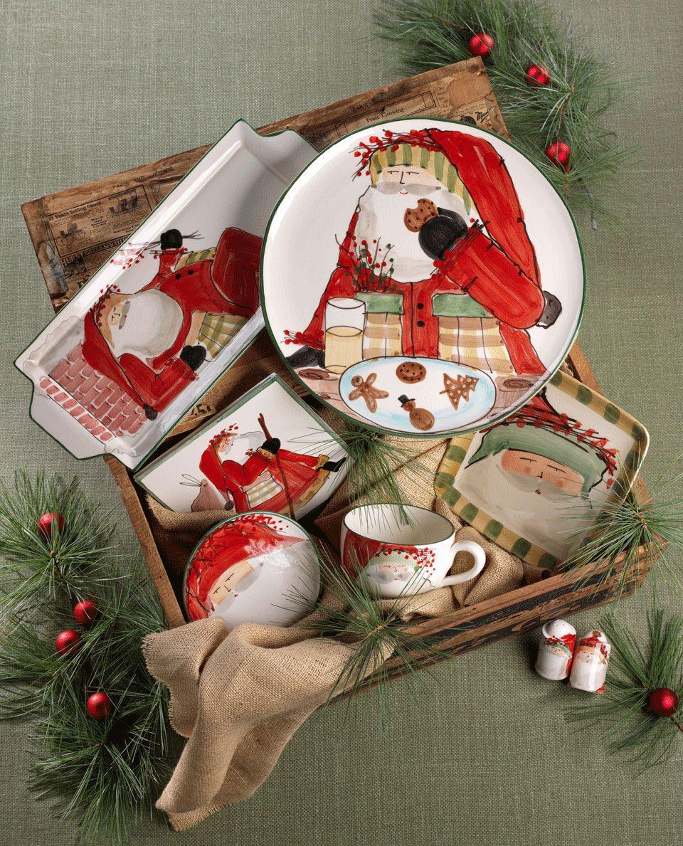 Тарелки в подарок на новый год