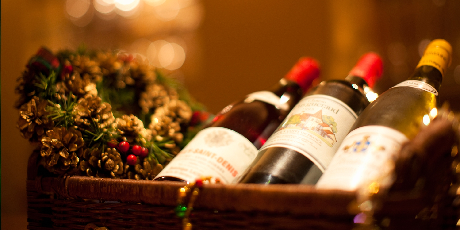 Вино в подарок на новый год