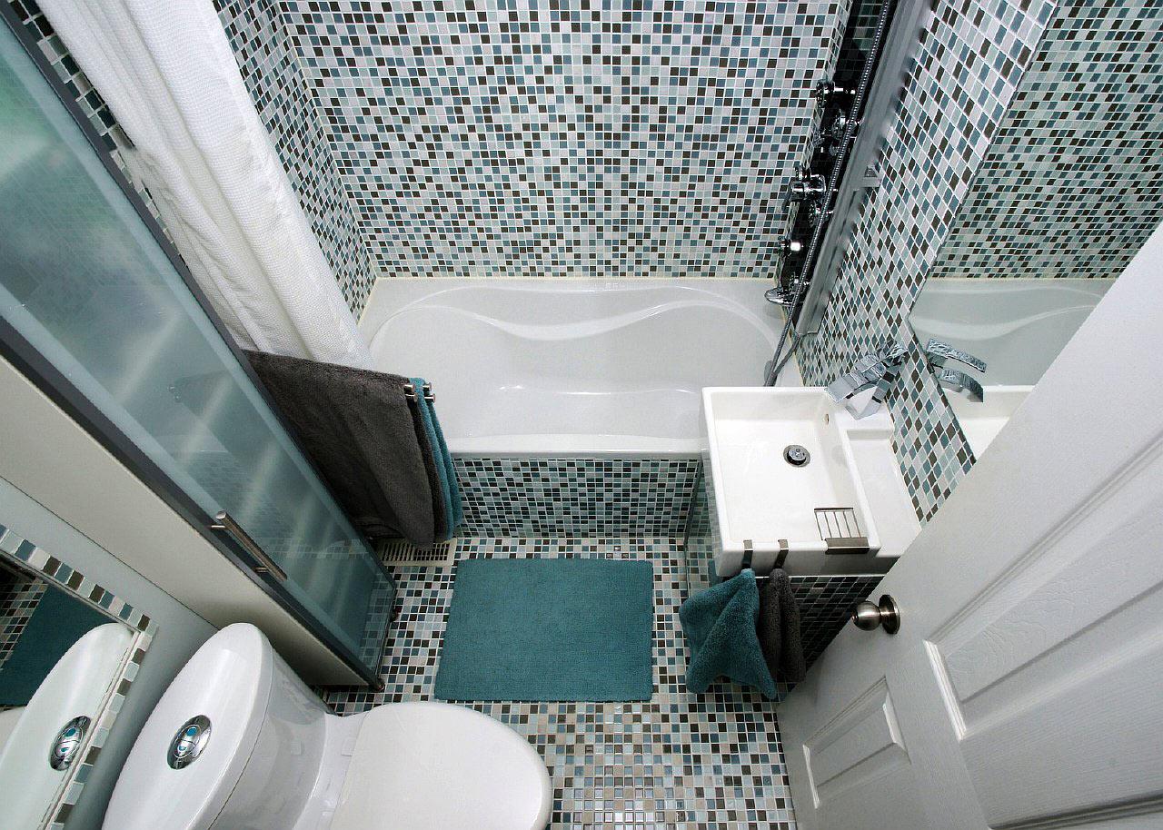 Совмещенная ванная комната 3 кв м