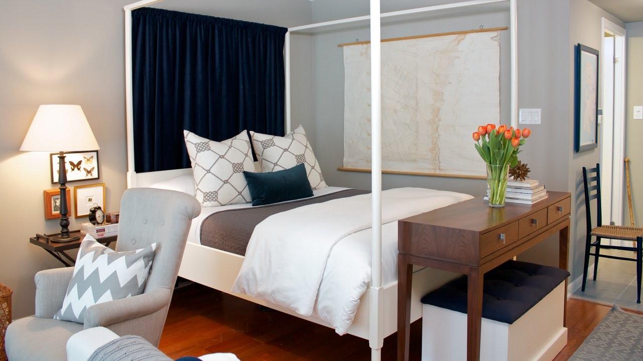 Маленькая спальня 9 кв м