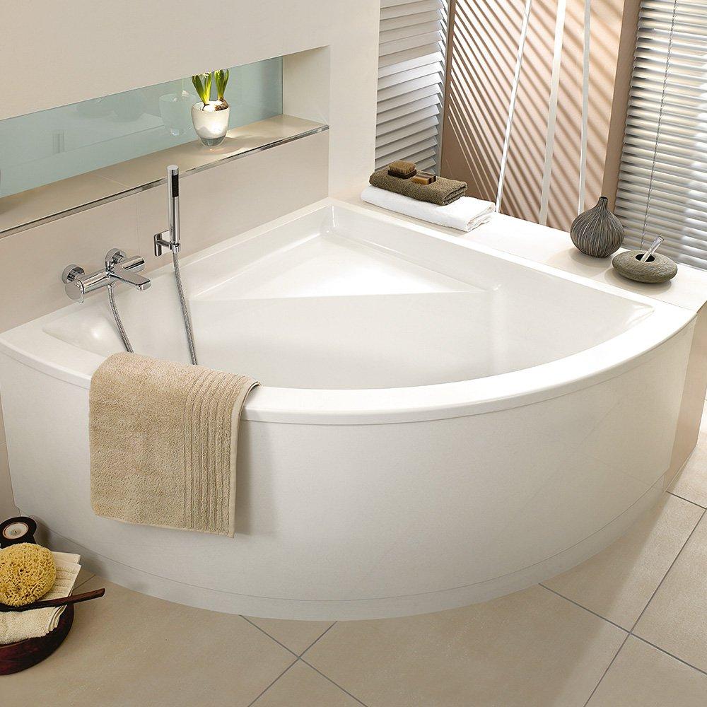 Угловая ванна акриловая