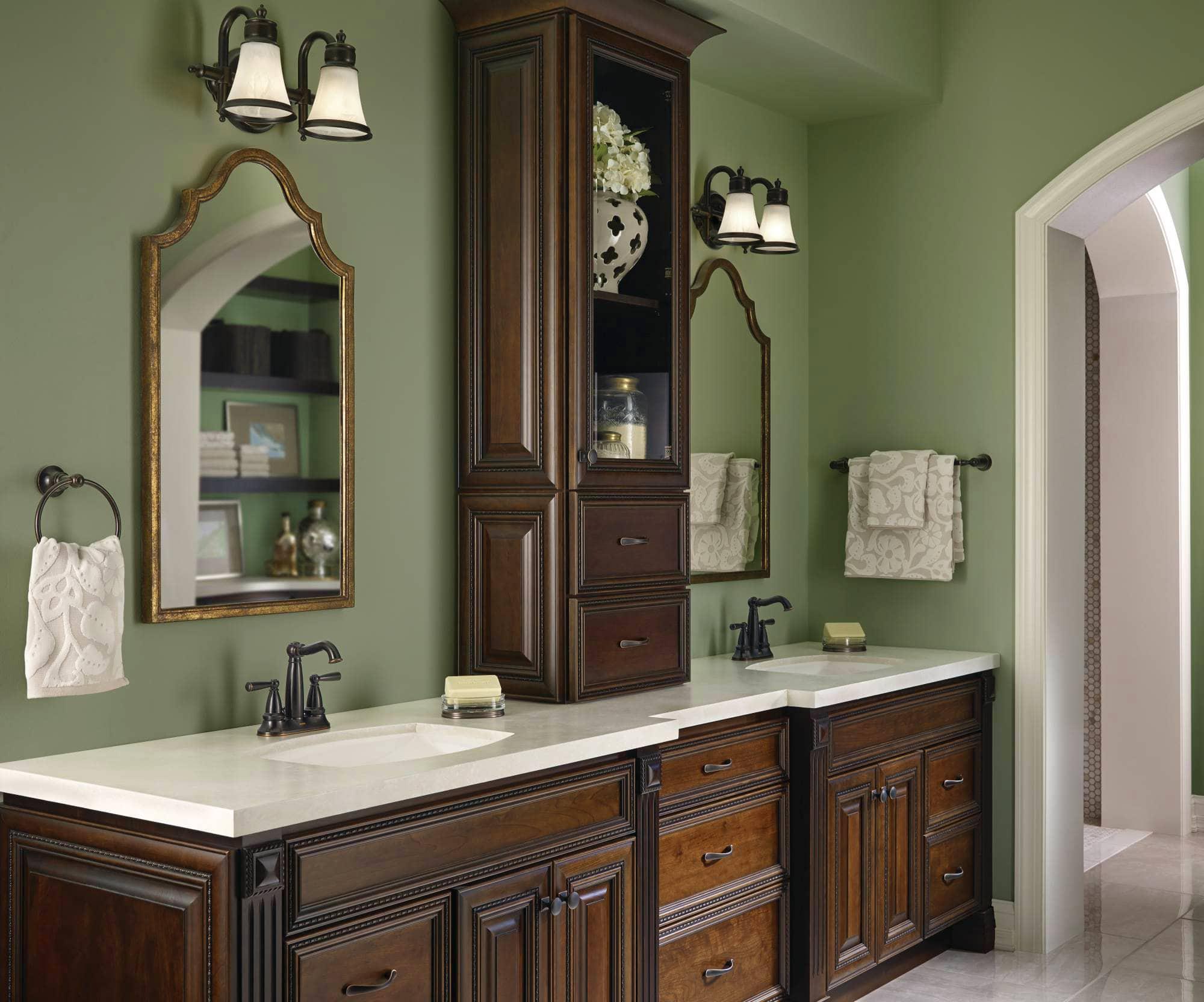 Мебель для ванной в английском стиле