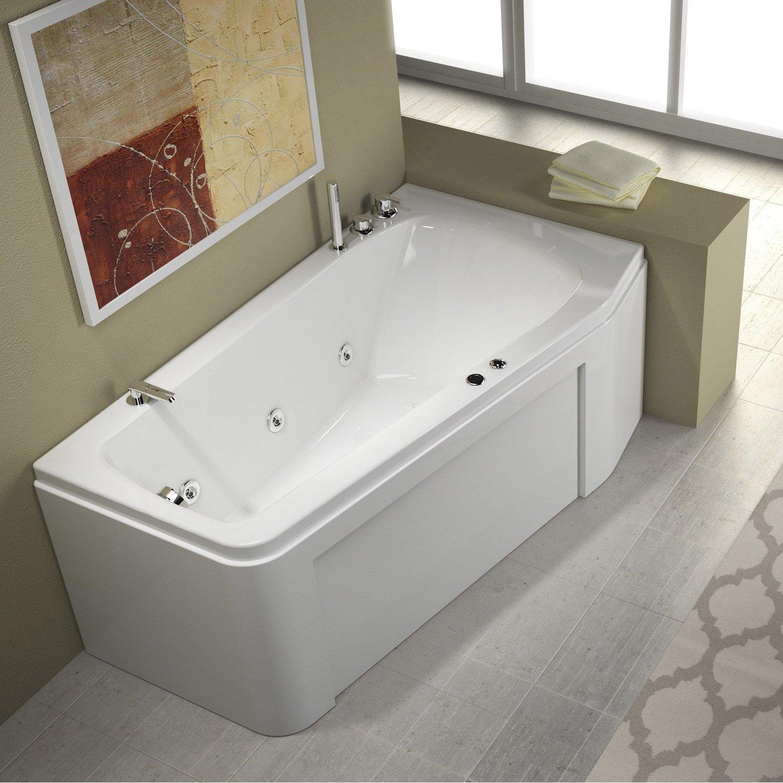 Угловая ванна асимметричная