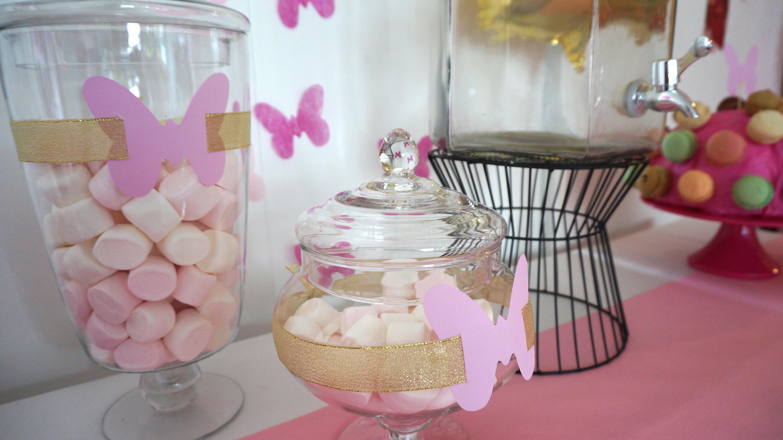 Оформление детского дня рождения бабочками