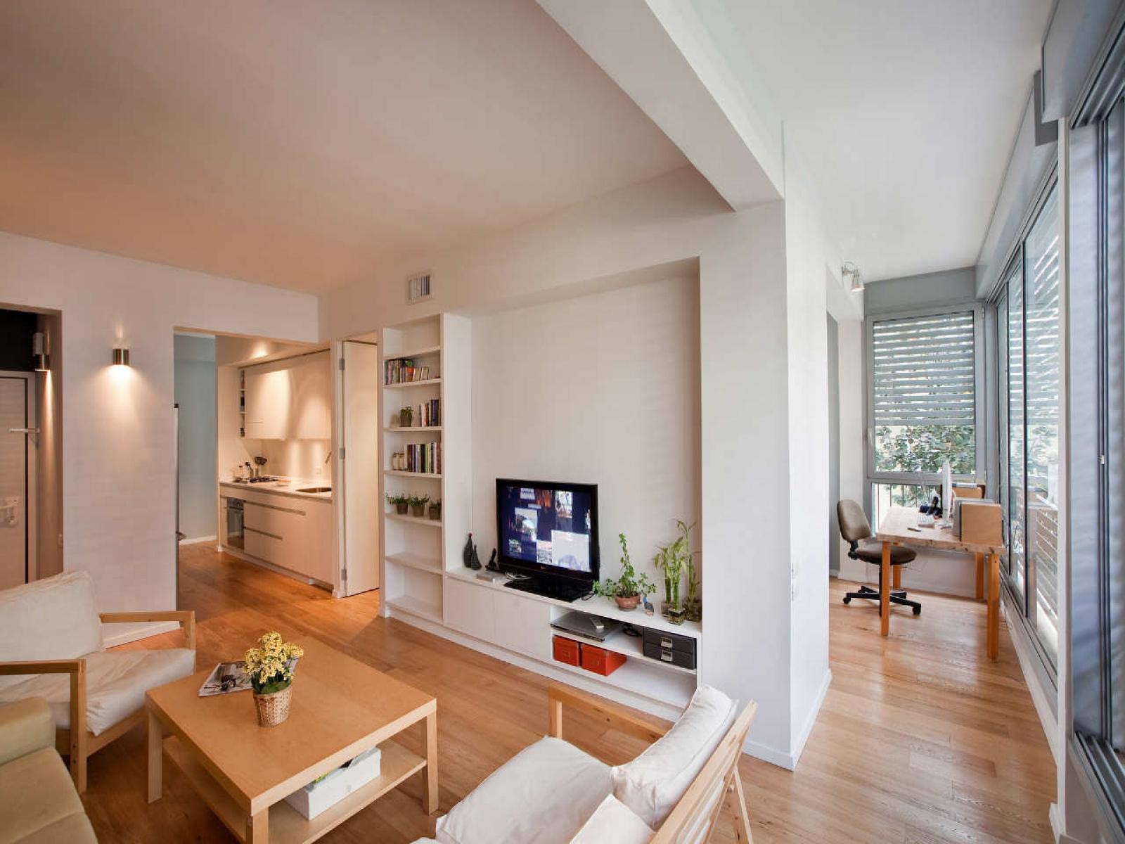 Дизайн однокомнатной квартиры с балконом