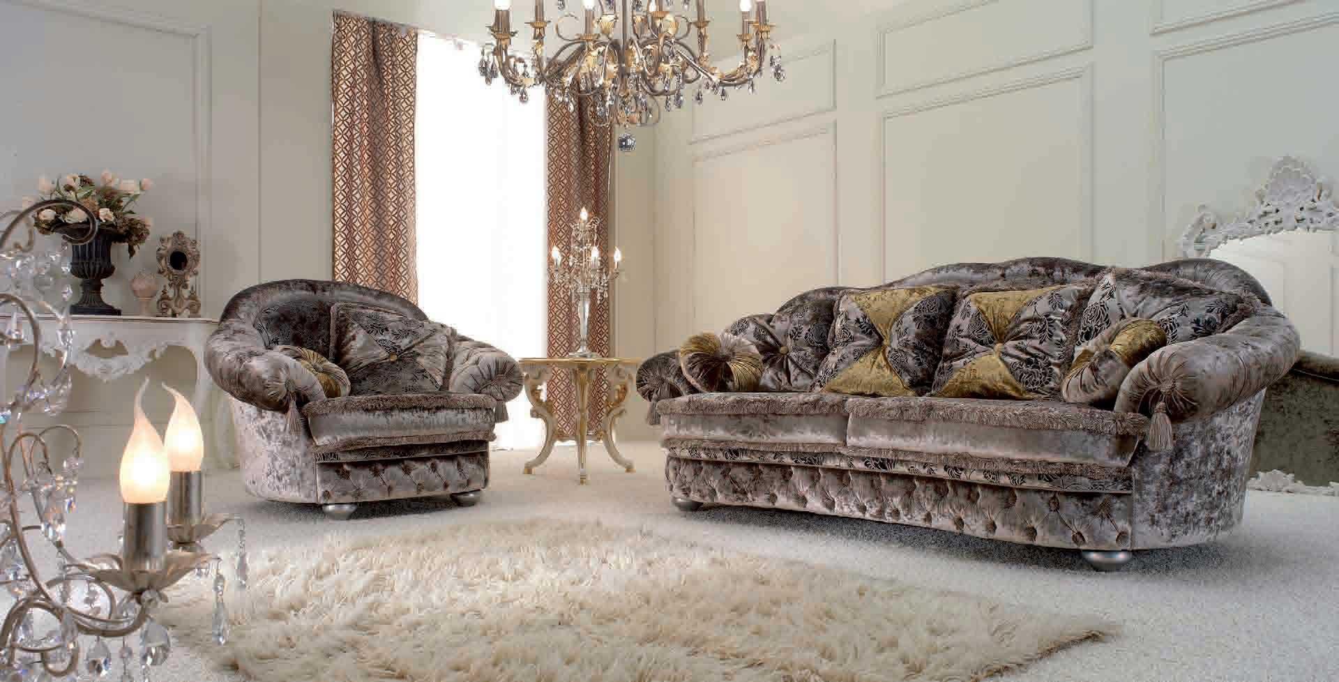 Бархатный диван
