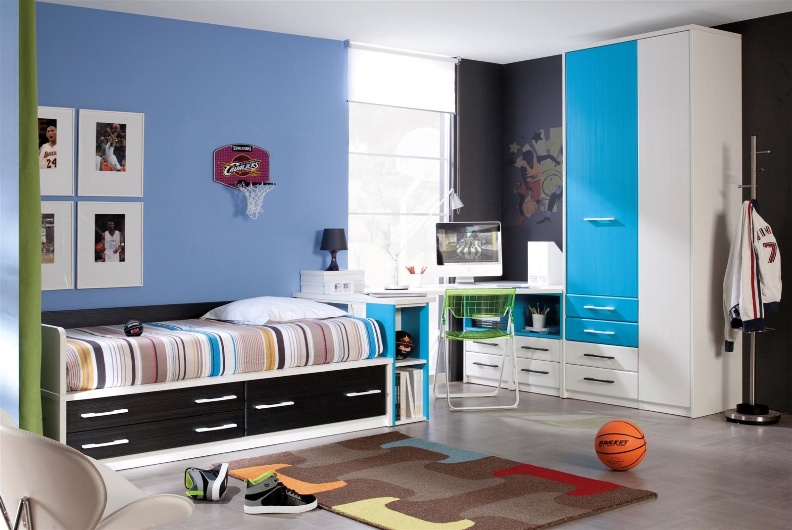 Детская комната для мальчика в баскетбольной тематике