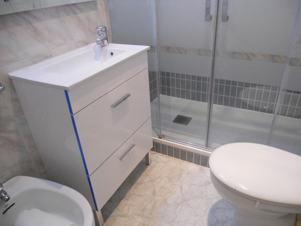 Маленькая ванная комната с биде