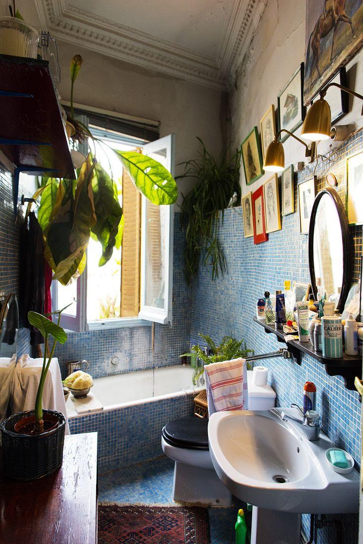 Идеи дизайна маленькой ванной в стиле бохо
