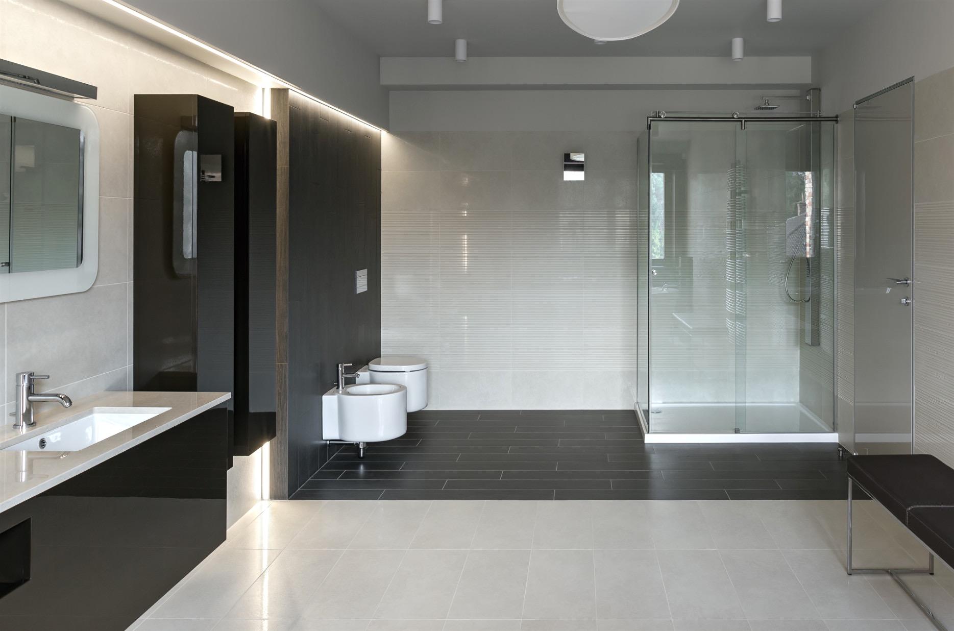 Совмещенная ванная комната большая