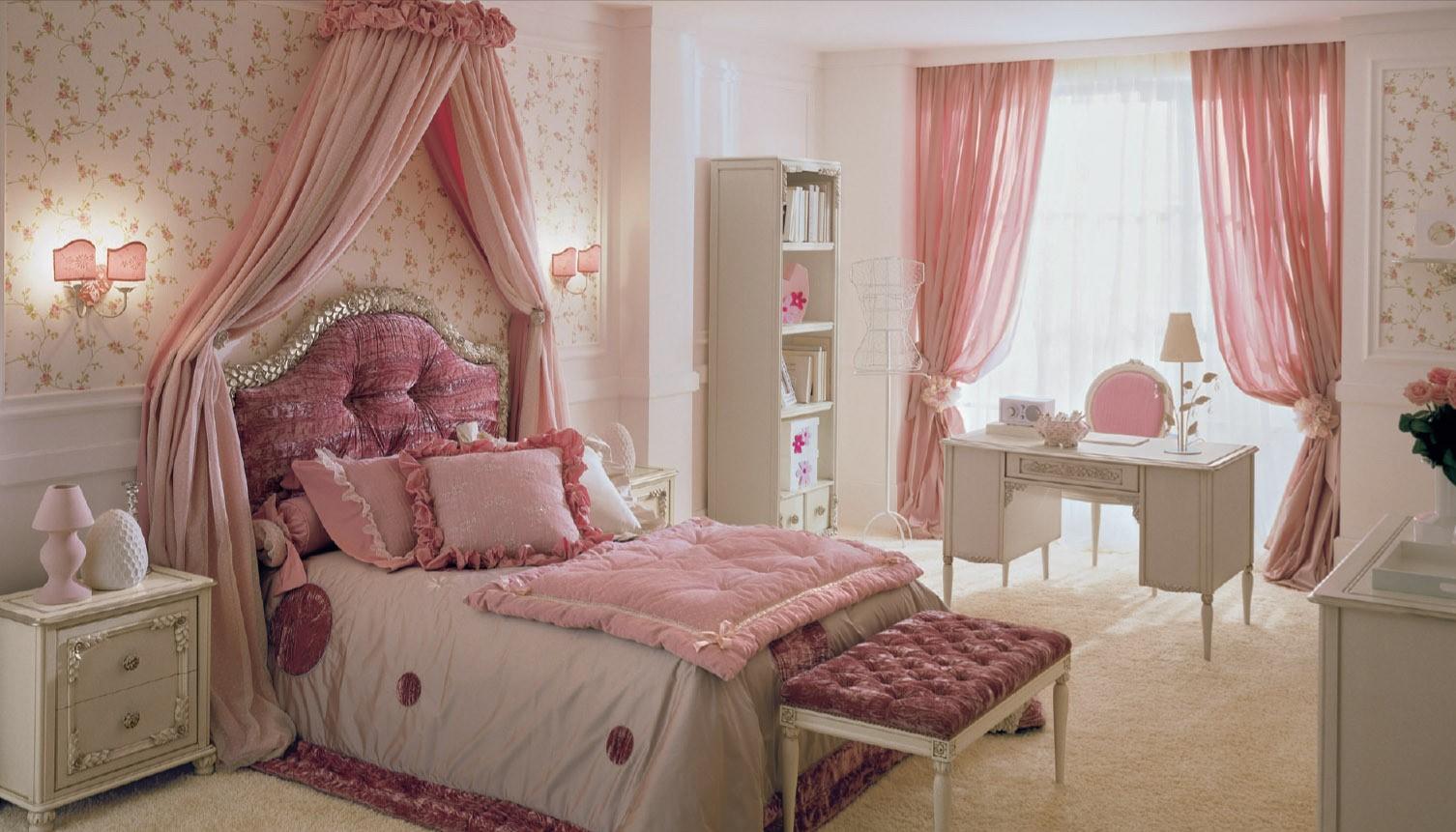 Детская комната в стиле прованс большая