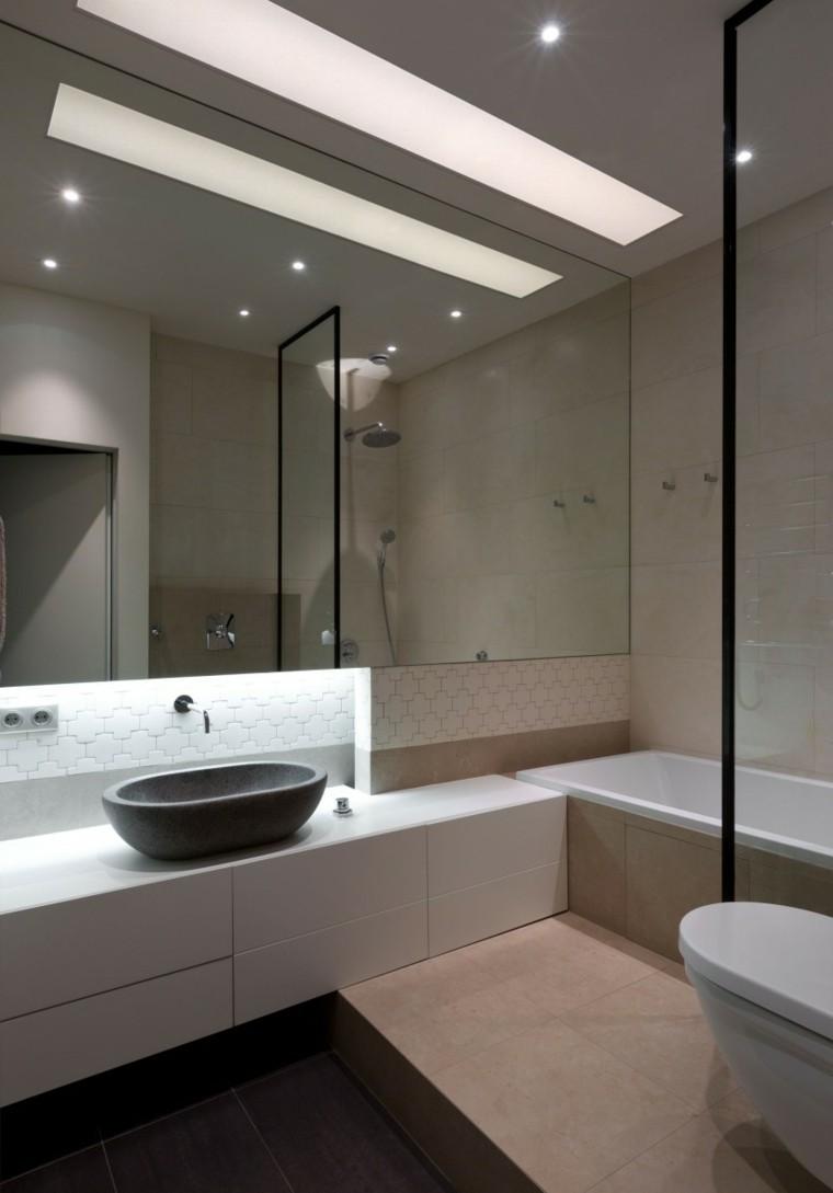 Зеркало в ванную большое