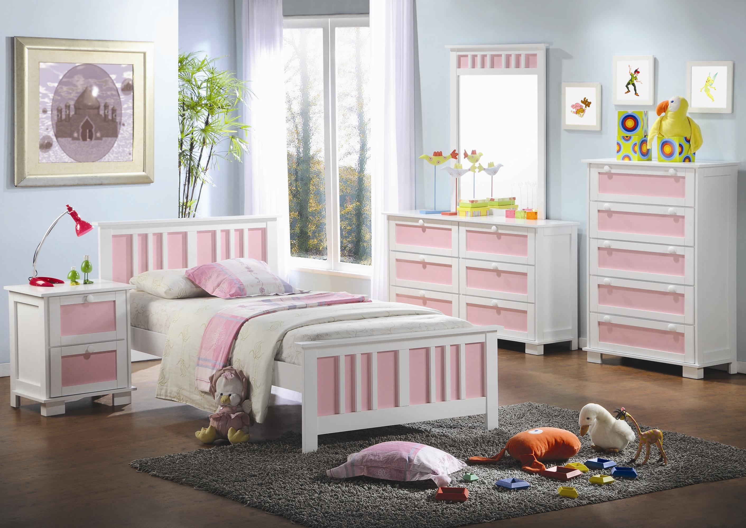Детская комната в цветах прованса