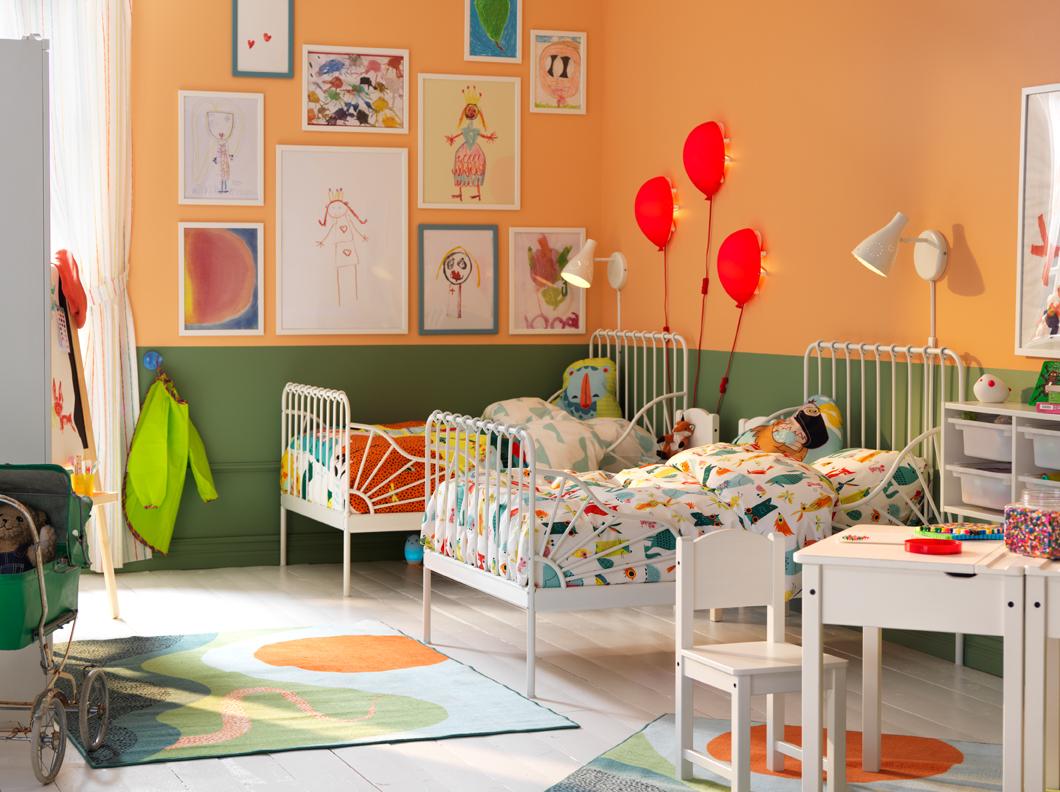 Декор детской комнаты для девочки