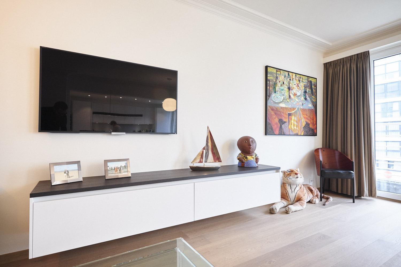 Дизайн однокомнатной квартиры с декором