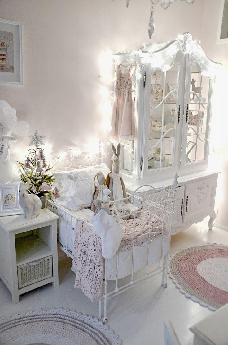 Детская комната в стиле прованс декор