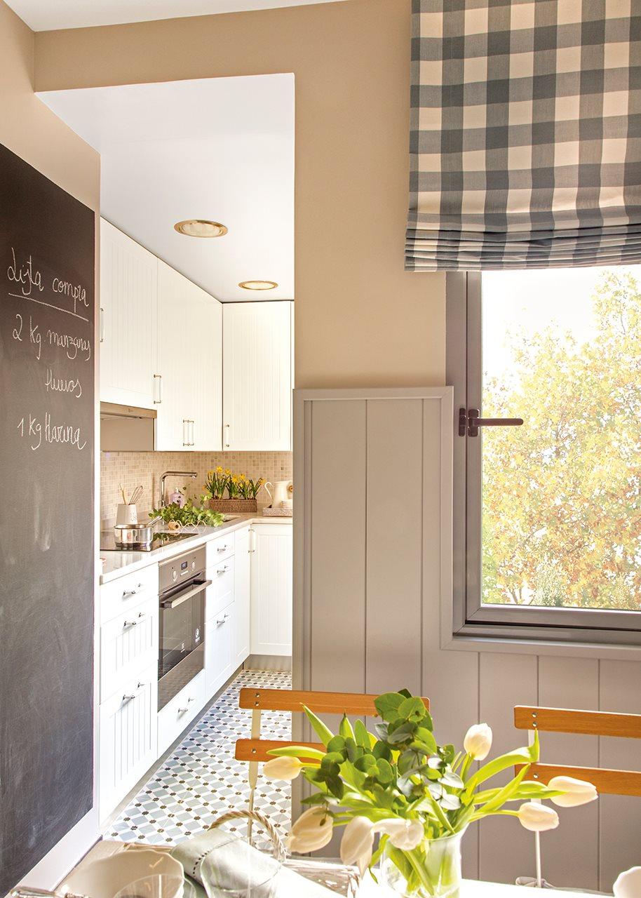 Кухня 9 кв м в деревенском стиле