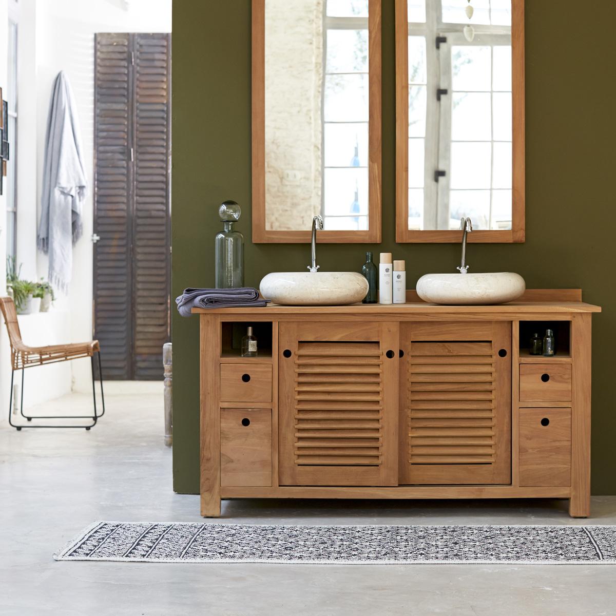 Мебель для ванной деревянная