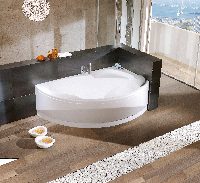 Угловая ванна дизайн