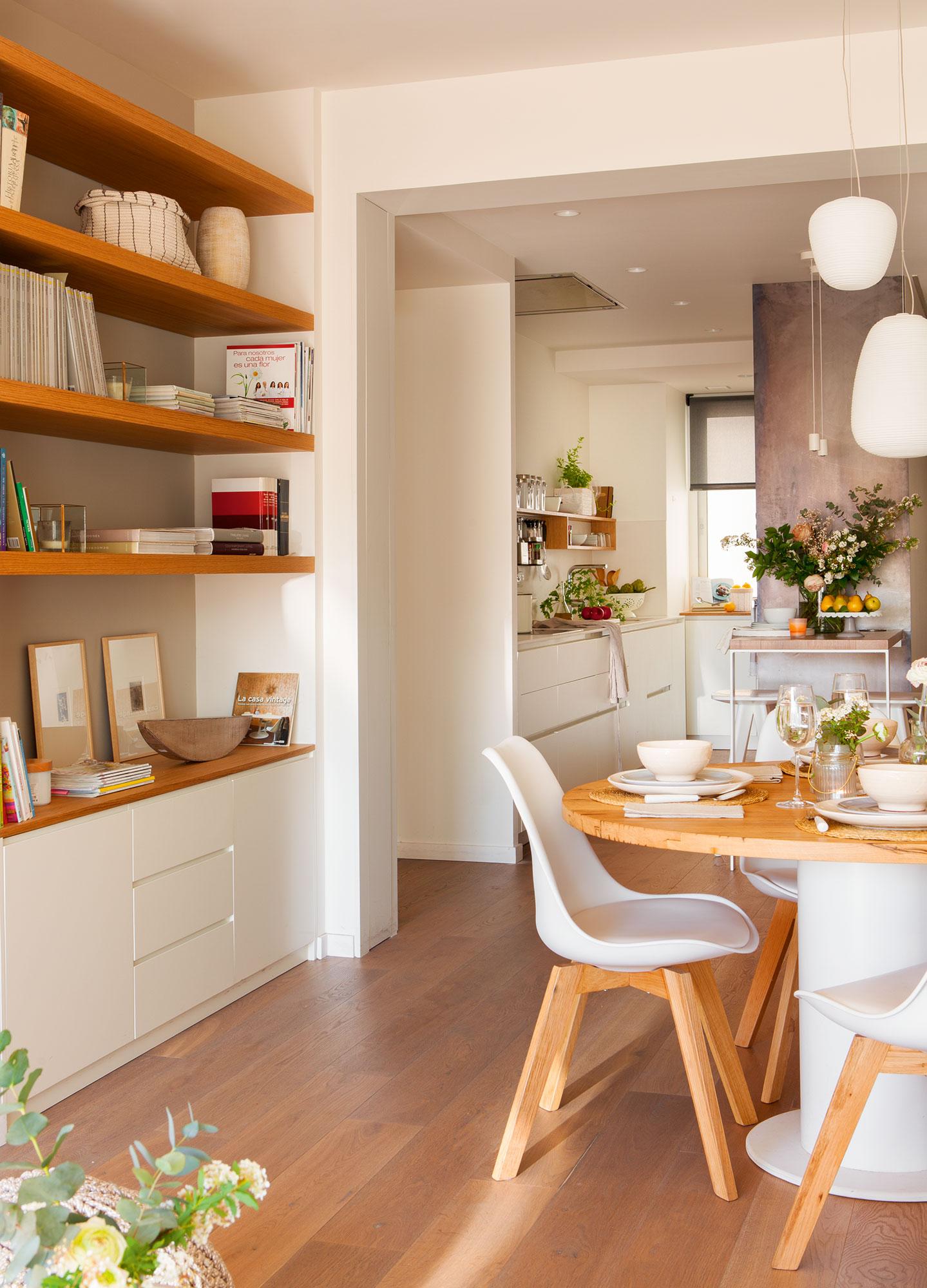 Дизайн маленькой кухни в доме
