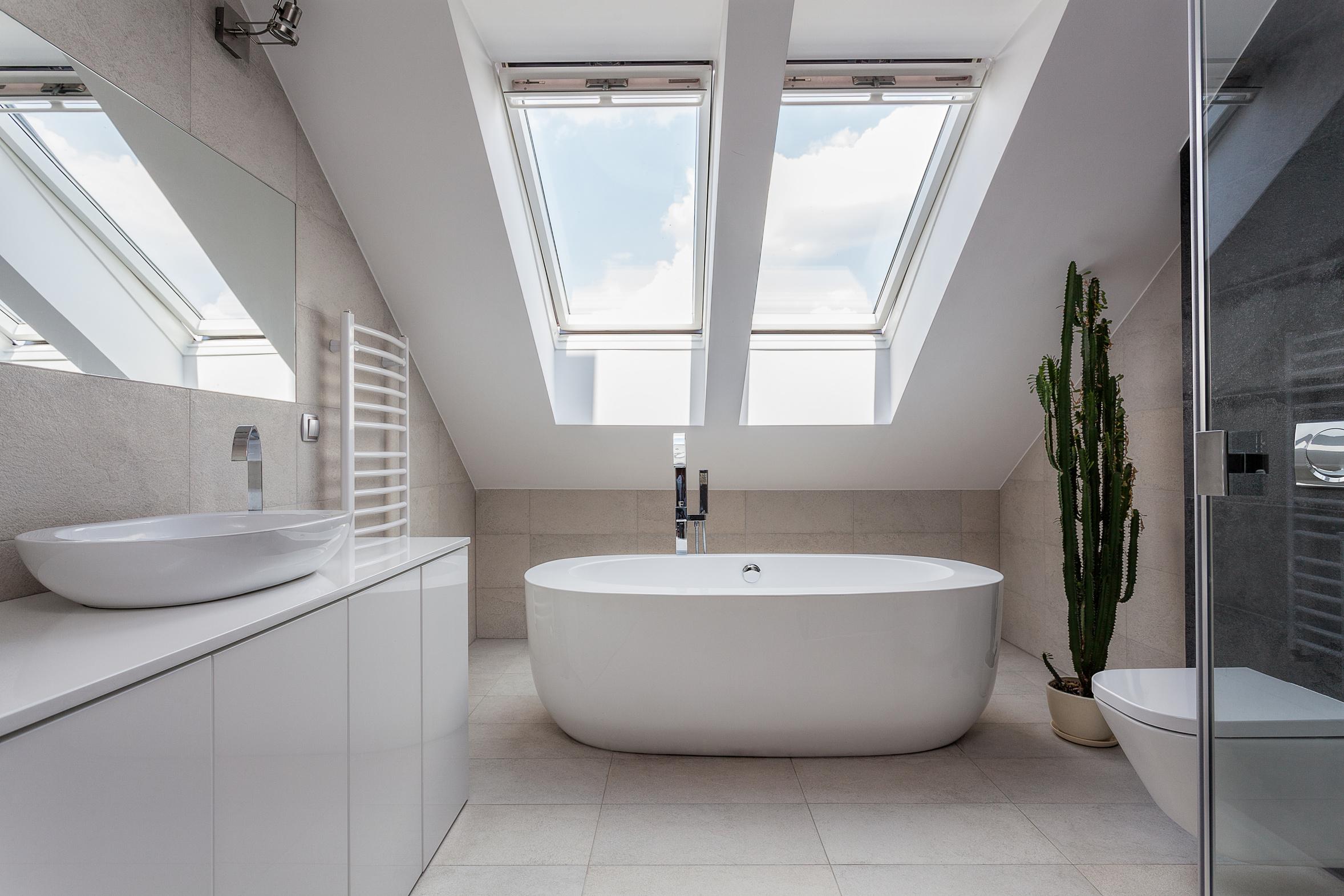 Совмещенная ванная комната в доме