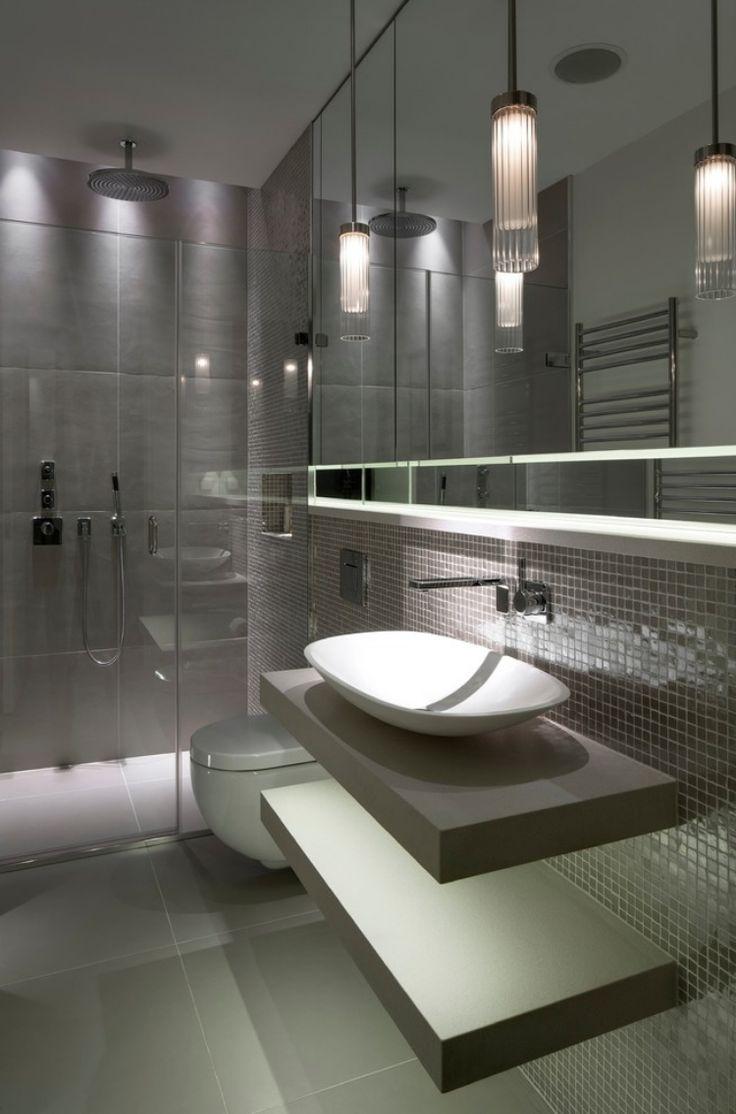 Совмещенная ванная комната с душем