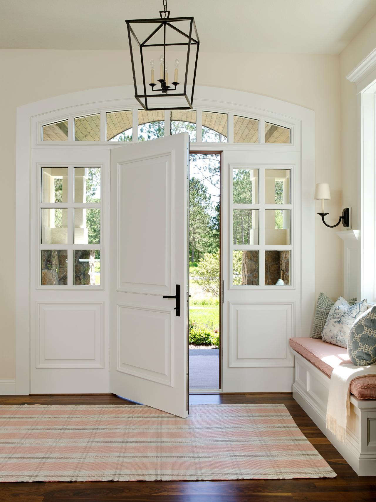Арка межкомнатная с дверью