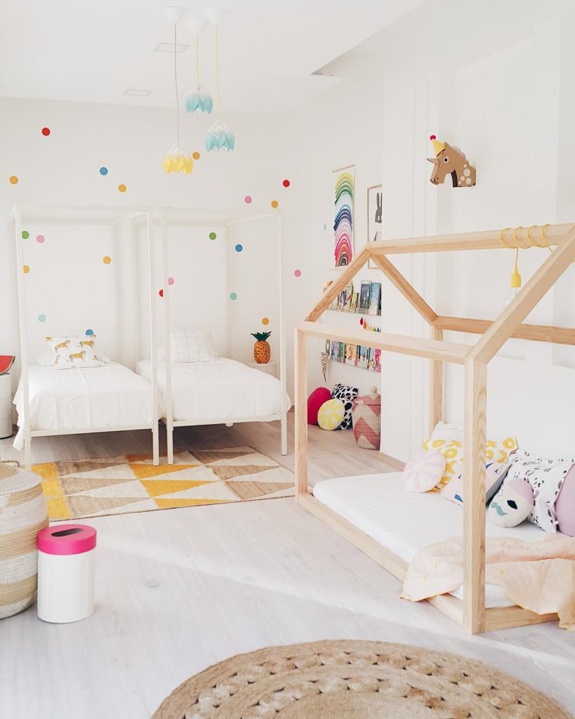 Детская комната для мальчика в стиле эко