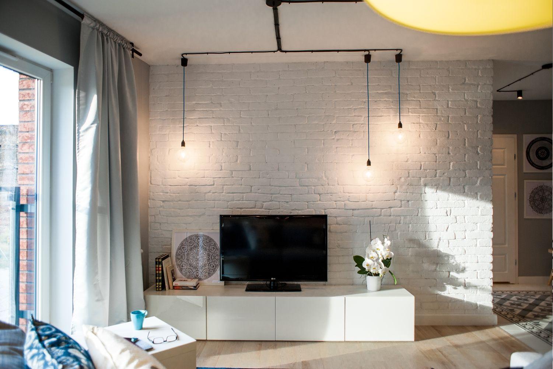 Дизайн однокомнатной квартиры с гостиной