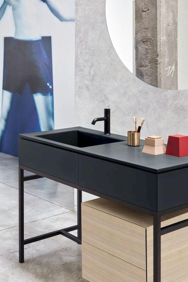 Мебель для ванной в индустриальном стиле