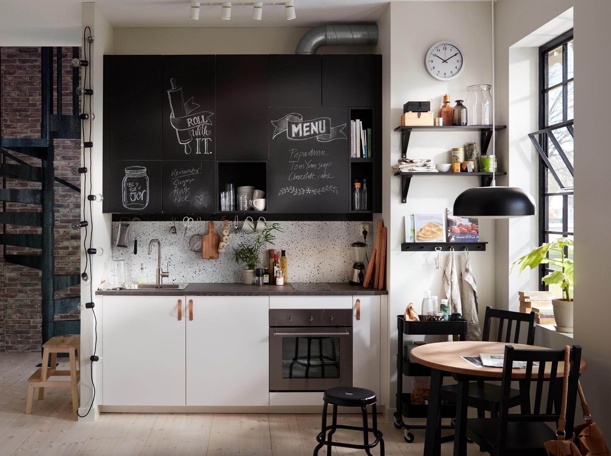 Кухня 9 кв м в индустриальном стиле