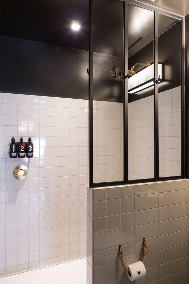 Ванная 4 кв м в индустриальном стиле