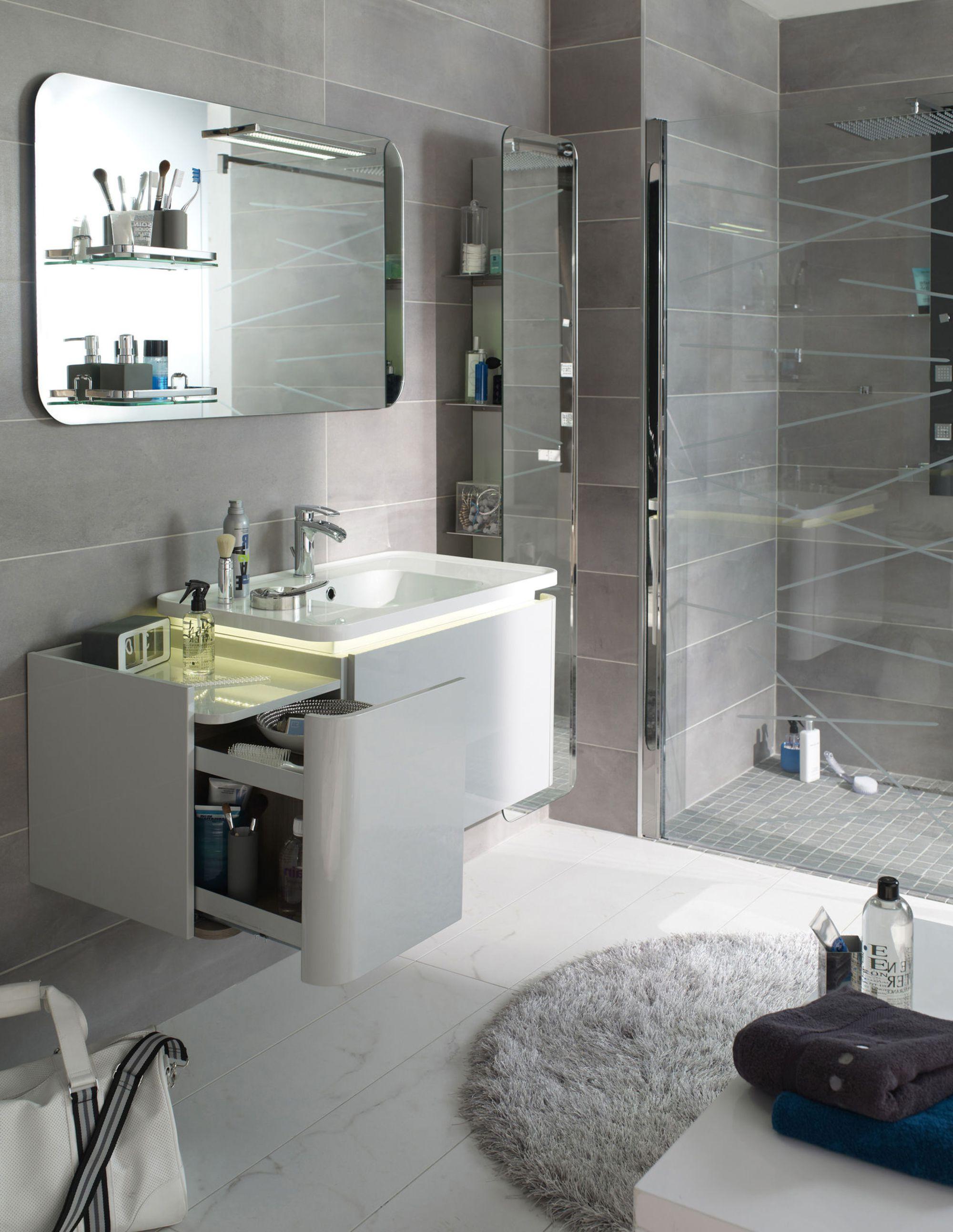 Идеи дизайна интерьера маленькой ванной